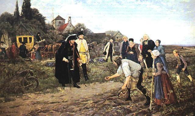 Flüchtlinge und Kartoffeln oder der Untergang des Abendlands