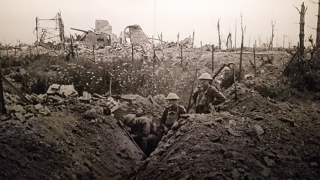 Hundert Jahre Erster Weltkrieg und die deutsche Kriegsschuld-Frage