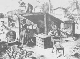 Wie lebten und wohnten die Menschen im Biedermeier ?